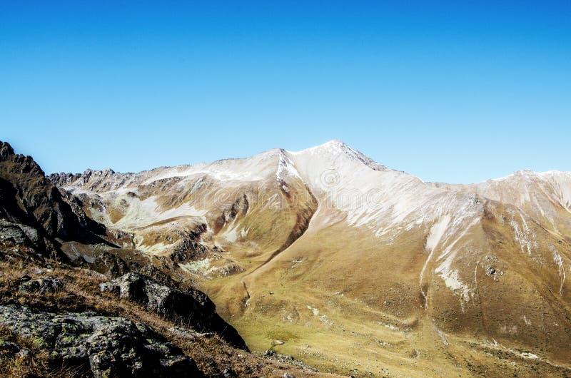 Góry, natura, werteks, turystyka zdjęcia stock