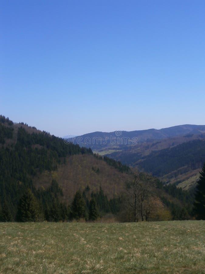 Góry panorama zdjęcia royalty free