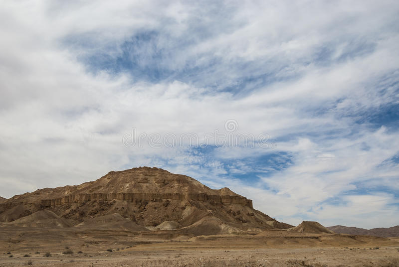 Góry pustynia obraz royalty free