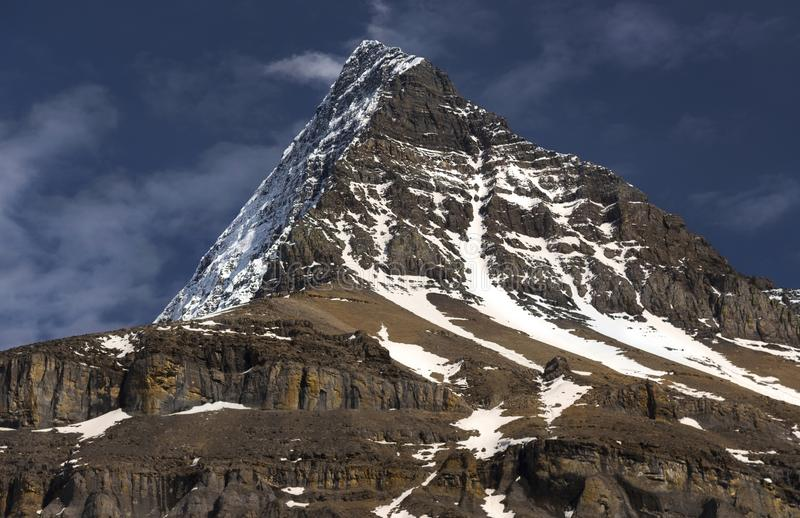 Góry Robson cesarza grań fotografia stock