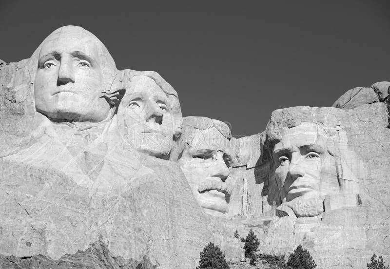 Góry Rushmore Krajowy pomnik, Czarni wzgórza, Południowy Dakota, usa obrazy royalty free