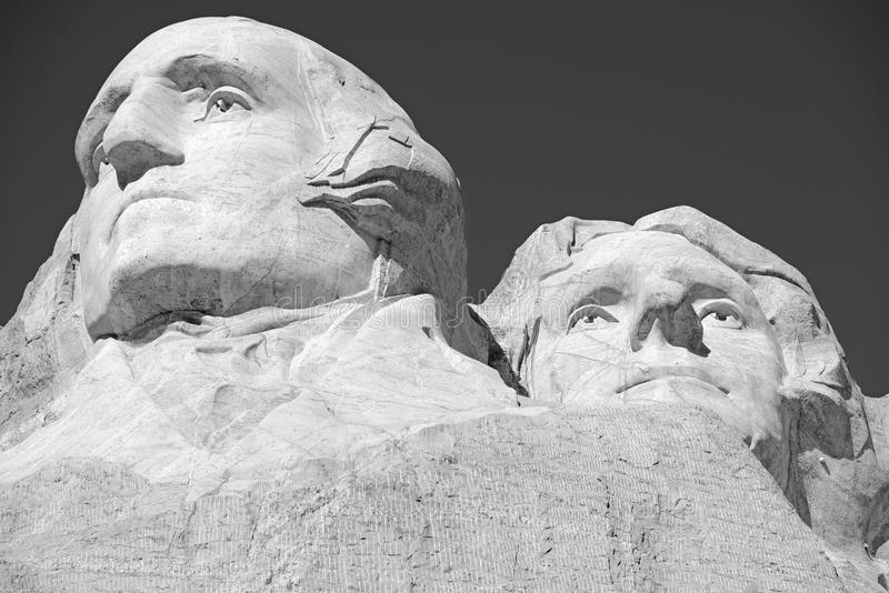 Góry Rushmore Krajowy pomnik, Czarni wzgórza, Południowy Dakota, usa zdjęcie stock