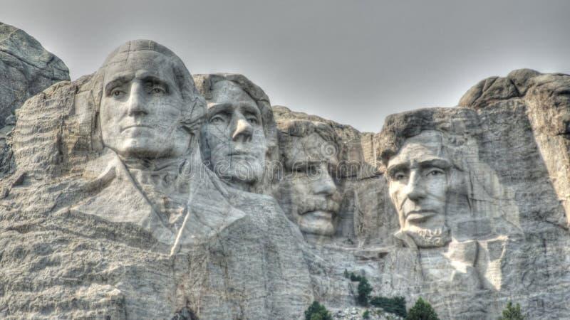 Góry Rushmore Krajowy zabytek fotografia stock
