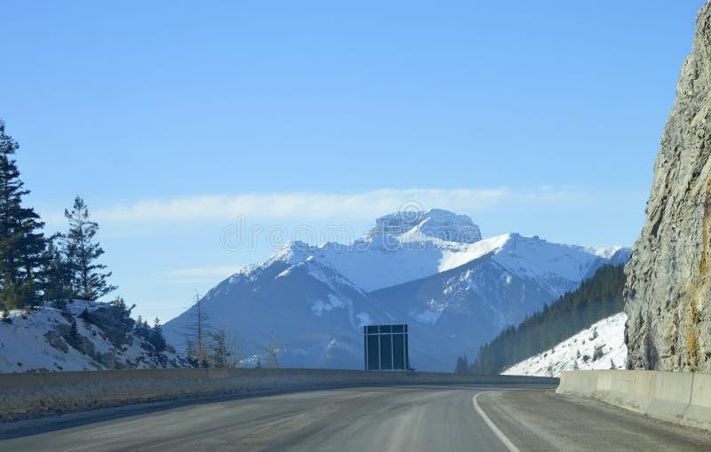 góry skaliste drogowe fotografia stock