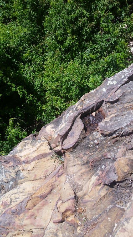 Góry strona zdjęcia stock