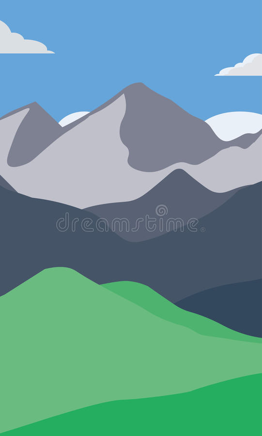 Góry tapetowe zdjęcia stock