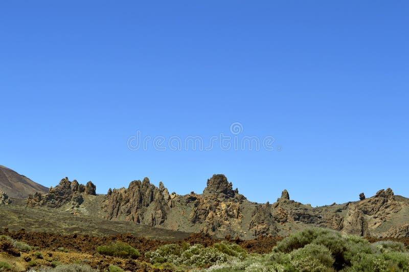 Góry Teide park narodowy obrazy stock