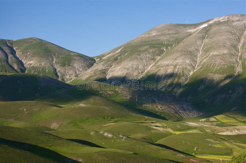 góry Umbria zdjęcie royalty free