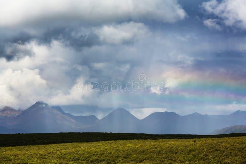Góry w Alaska fotografia royalty free