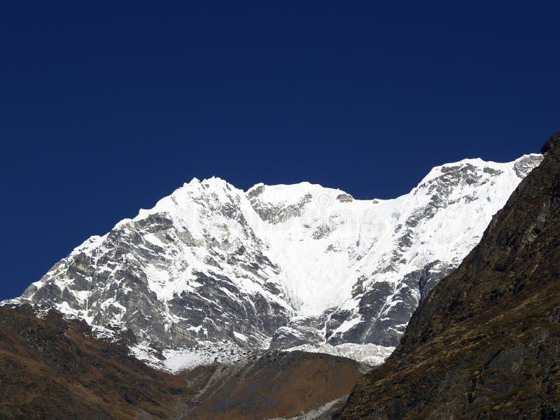 Góry w Langtang obrazy stock
