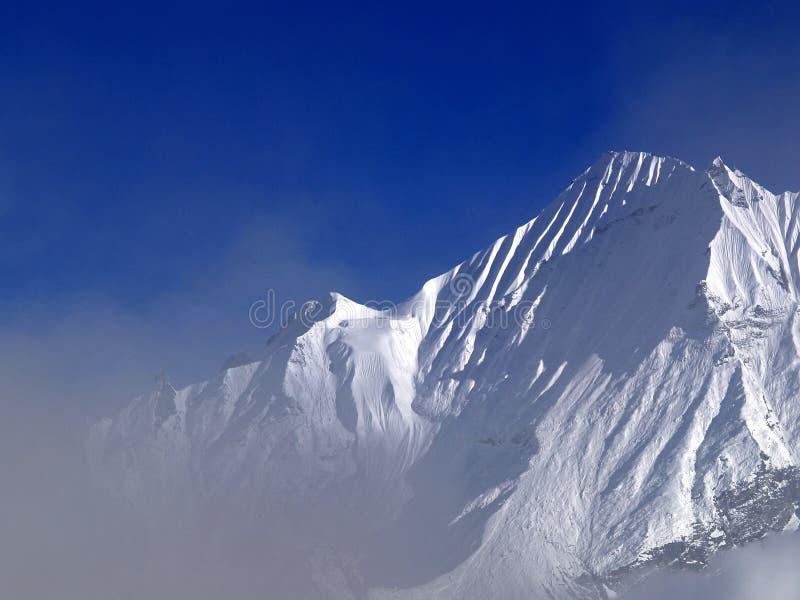 Góry w Langtang zdjęcia royalty free