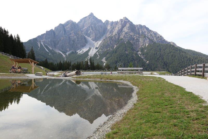 Góry w Tirol obrazy stock