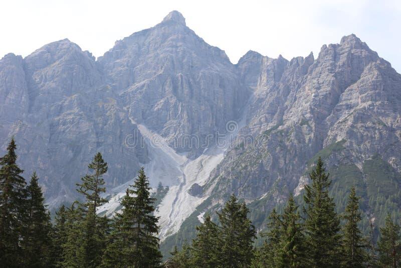 Góry w Tirol zdjęcia stock