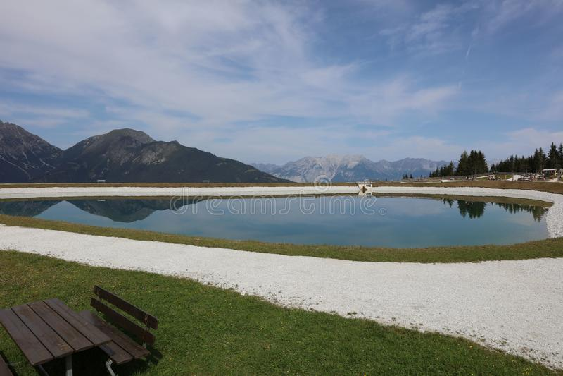 Góry w Tirol zdjęcie royalty free