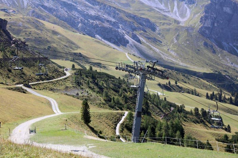 Góry w Tirol obrazy royalty free