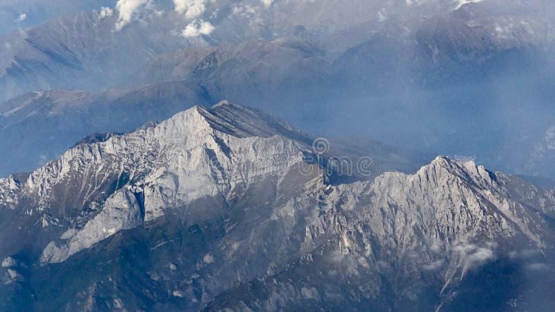 Góry w Włochy obrazy royalty free