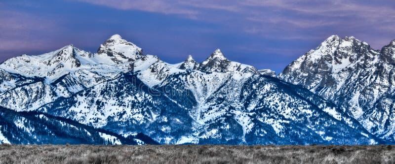 Góry Wyoming obraz royalty free