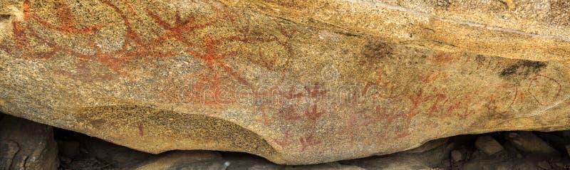 Góry Yarrowyck skały sztuki miejsce zdjęcia royalty free