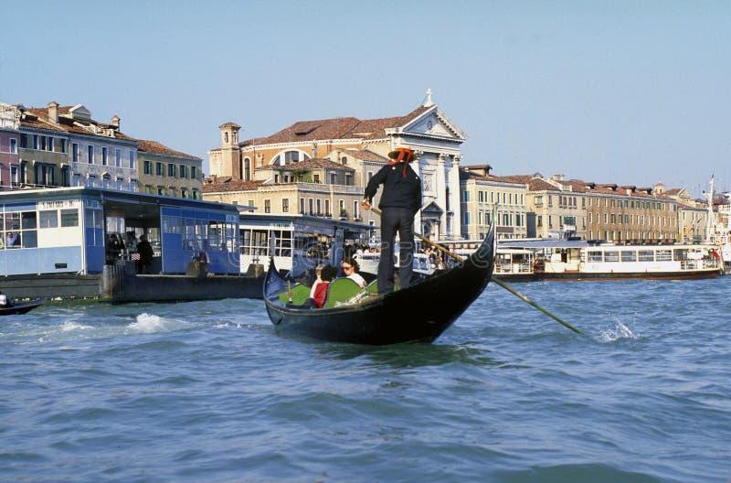 Gôndola de Veneza fotos de stock royalty free