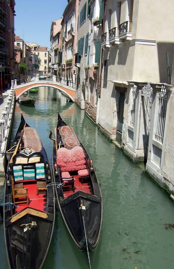 Gôndola de Veneza Itália fotos de stock