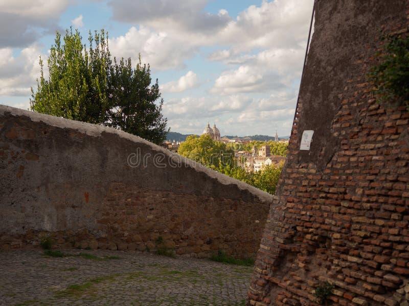 Gömd sikt på Rome fotografering för bildbyråer