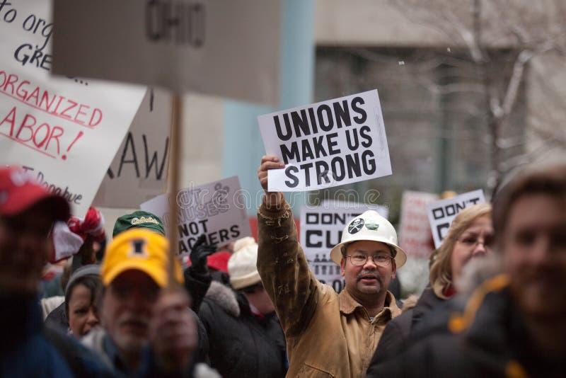 gör för att samla starka unioner oss arkivbild