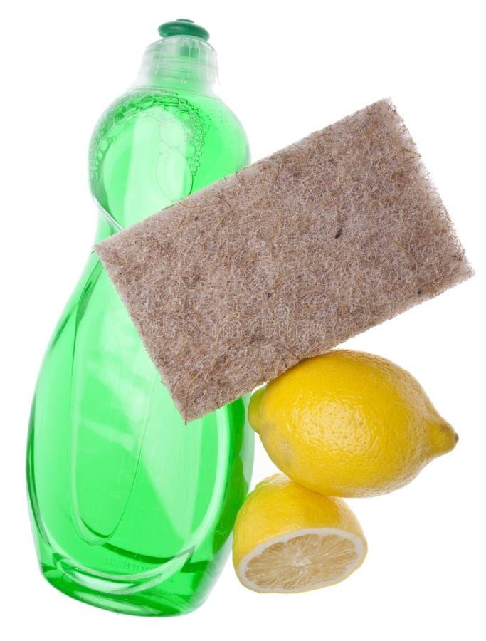 gör ren den naturliga citronen royaltyfri bild