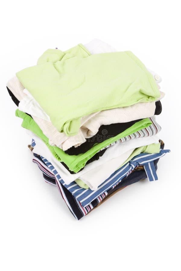 gör ren kläder royaltyfri bild