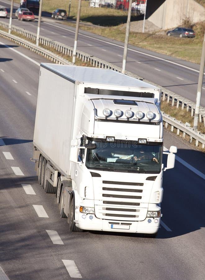 gör ren lastbilwhite fotografering för bildbyråer
