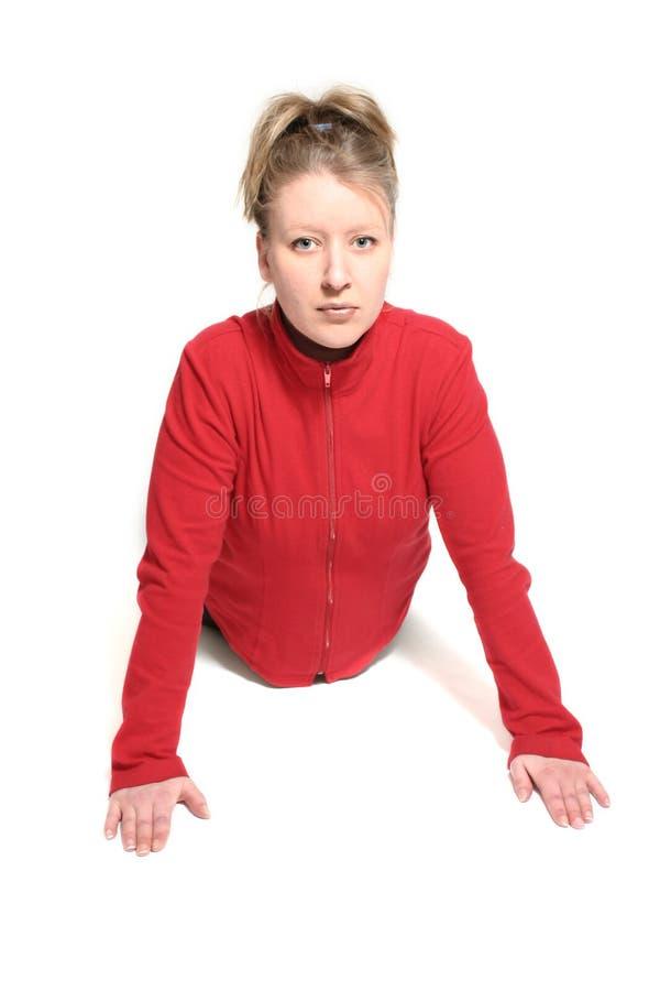 Download Göra övning arkivfoto. Bild av övning, form, wellness, kvinnlig - 503610