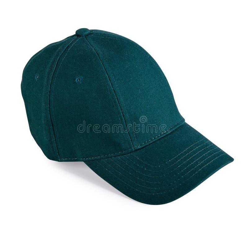 Göra grön baseballmössan royaltyfri foto
