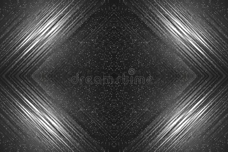 göra mellanslag mörk bakgrund av stjärnorna som skiner komet royaltyfri bild
