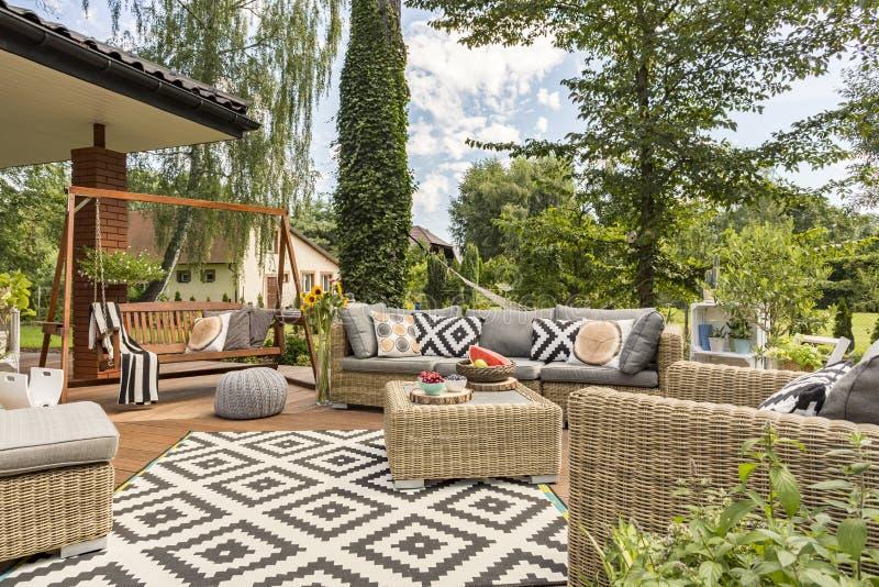 Göra perfekt stället för trädgårds- parti arkivfoton