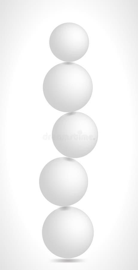 Balansera i equilibrium royaltyfri foto