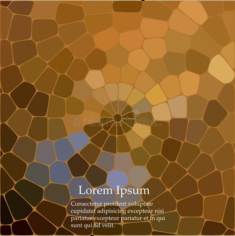 Göra sammandrag att upprepa geometrisk bakgrund med kaotisk textur Ojämn modell av kvarter vektor illustrationer