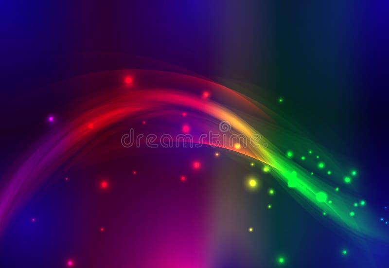 göra sammandrag färglinjer vektor illustrationer