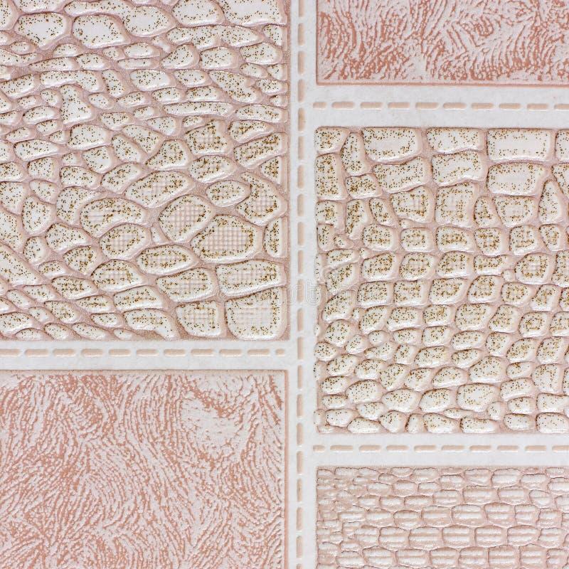 Göra sammandrag fotoet tätt papper för bakgrund som skjutas upp olika texturer fotografering för bildbyråer