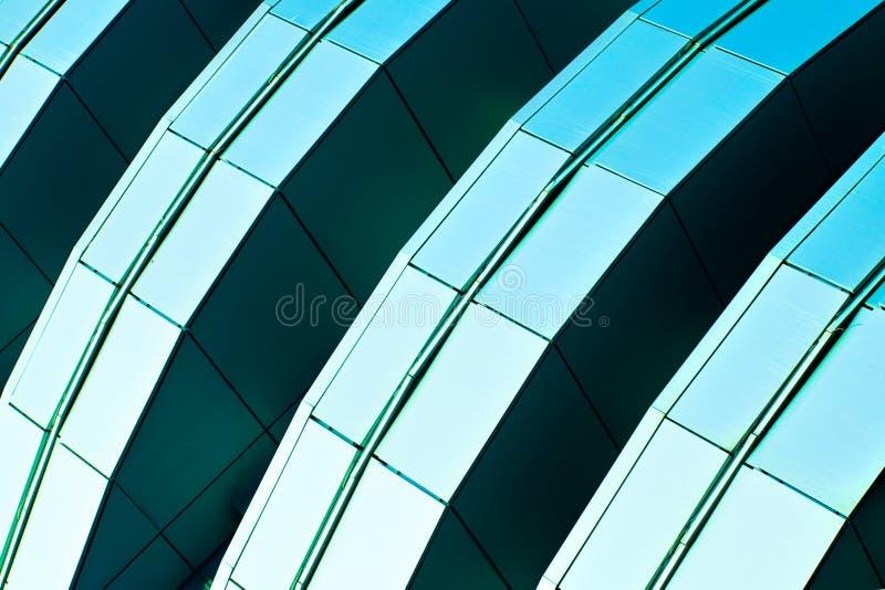 göra sammandrag kantjusteringsdiagonalskyskrapan royaltyfri bild