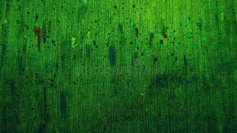 göra sammandrag konst Färgpulverspill på kanfasbräde Ljusa slaglängder Färgpulverspillkonstverk Dry som inking yttersida fotografering för bildbyråer