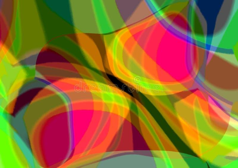 Göra sammandrag mångfärgad bakgrund Defocused abstrakt bakgrund för lutning gammal texturvägg för tegelsten vektor illustrationer