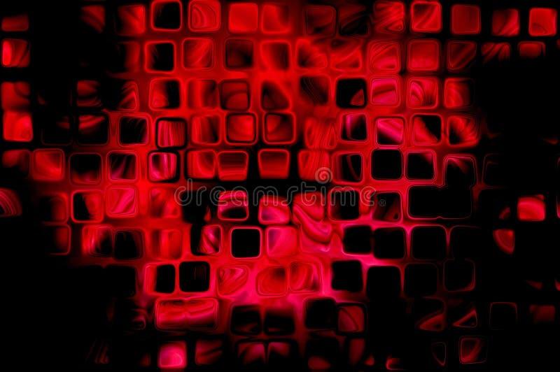 göra sammandrag svart red för bakgrund vektor illustrationer