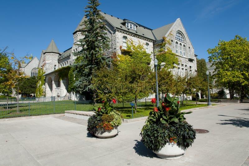 Göra till drottning universitetet för ` s - Kingston - Kanada arkivbild