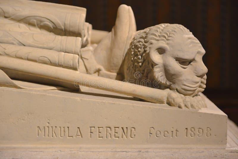 Göra till kung Bélas IIIgravvalvet - Budapest, Ungern royaltyfri bild