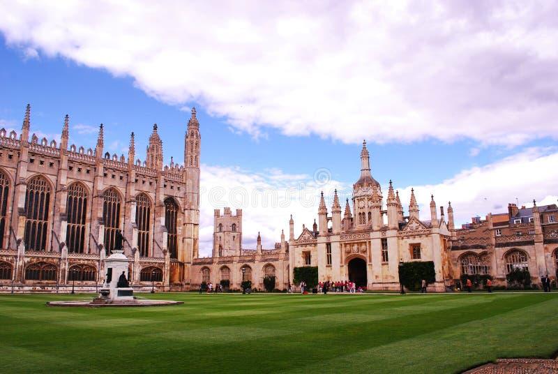 Göra till kung högskolan Cambridge, en bestånds- högskola för ` s av universitetet av Cambridge i England arkivfoton