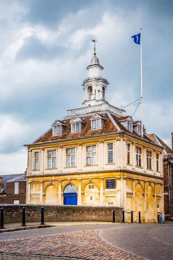 Göra till kung ` s Lynn, Norfolk, England, Juni 16, 2016: Beställnings- hus royaltyfria bilder