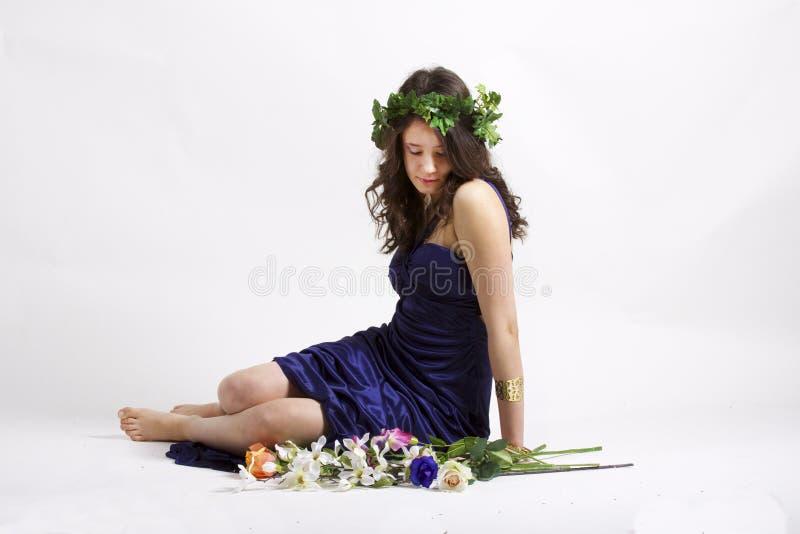 Göttin der Natur stockbilder