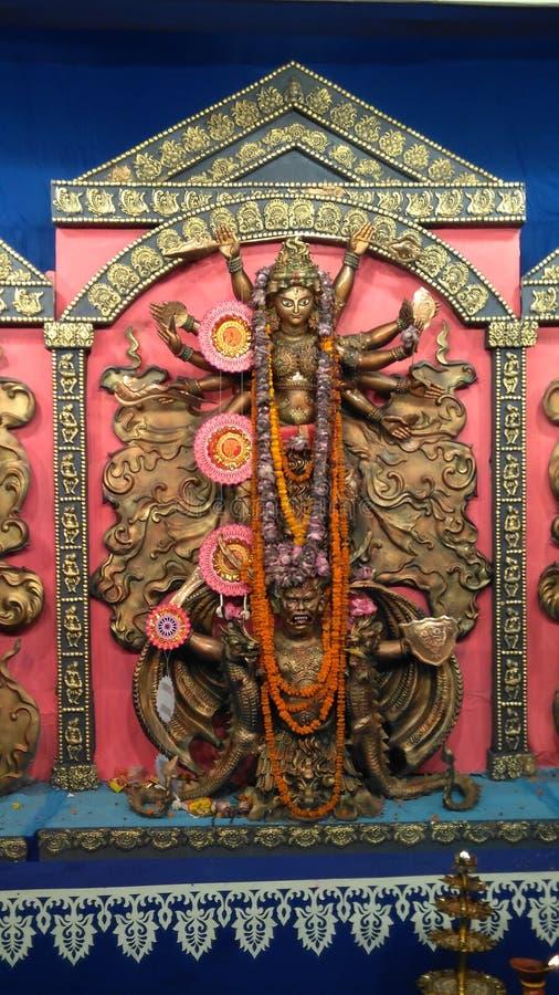 Göttin Durga lizenzfreies stockbild