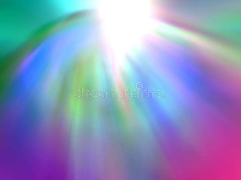 Göttliche Enthüllung vektor abbildung