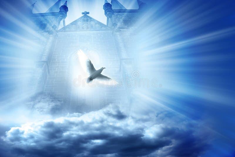 Göttlicher Spiritus stock abbildung