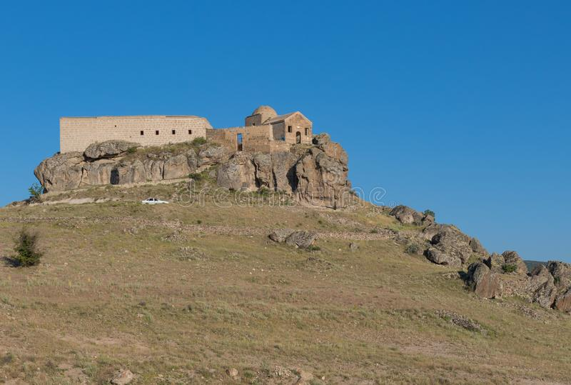 The wonderful landscape of Güzelyurt, Aksaray, Turkey stock photos